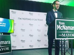 tom at podium speaking